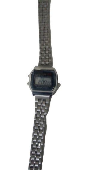 Relógio De Pulso Vintage Retro Infantil Prata Pequeno