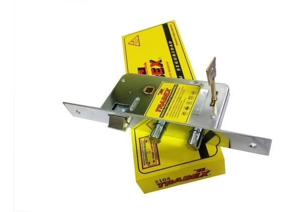 Cerradura Trabex 2104 Reforzada Pas.red.-llave Extra Gratis!