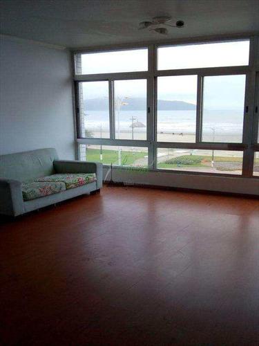 Vista Para O Mar - 2 Dormitórios Com Dependência De Empregada - Itararé São Vicente - V6091