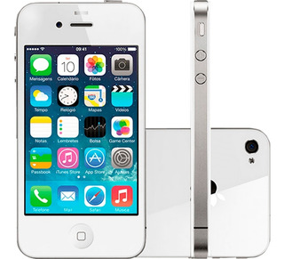 Apple iPhone 4s 8gb Original 512mb De Ram Nf-e Ios | Vitrine