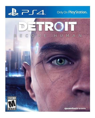 Imagen 1 de 7 de Detroit Become Human Juego Ps4 Fisico/ Mipowerdestiny