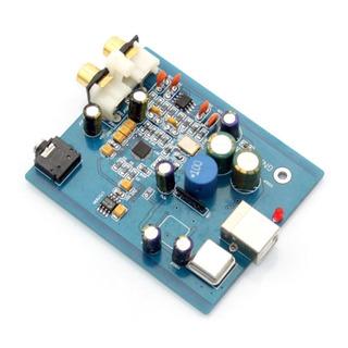 Sa9023 + Es9018k2m 24 Bits Dac Usb 96k Usb Entrada Rca Audio