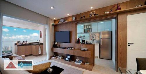 Imagem 1 de 8 de Apartamento Com 2 Dormitórios À Venda, 63 M² Por R$ 650.000 - Tatuapé - São Paulo/sp - Ap6382