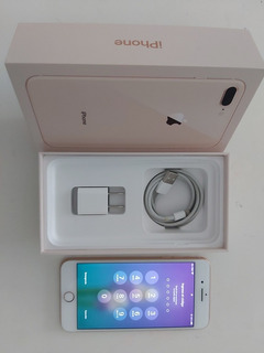 iPhone 8 Plus - 256 Gb Rosa Gold- Impecable