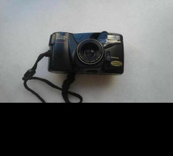 Câmera Analógico Olympus Accura Zoom 80 Dlx Autofocus38-80mm