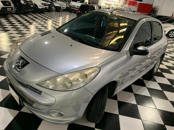 Peugeot 207 Compact 1.4 Xs 5 Puertas 2012 Gris Cpm