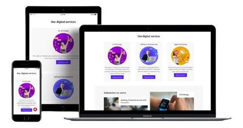 Imagem 1 de 4 de Sites / Landing Pages