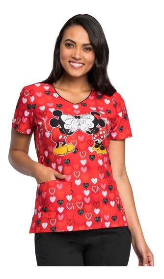 Disney Tf614 Filipina Minnie Mickey Mujer Quirúrgica Médica