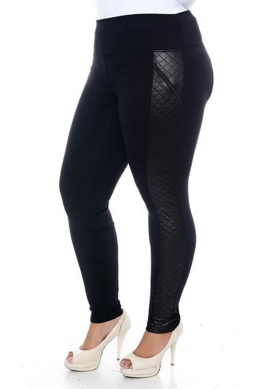 Calça Montaria Plus Size Com Zíper