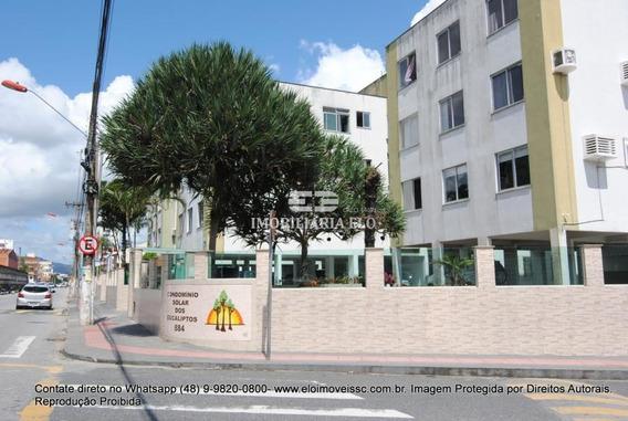 Apartamento Amplo, Prédio De Esquina No Bairro Areias - 4046