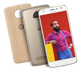 Motorola Moto Z2 Play Style 64gb Dourado, Câm 12mp (vitrine)
