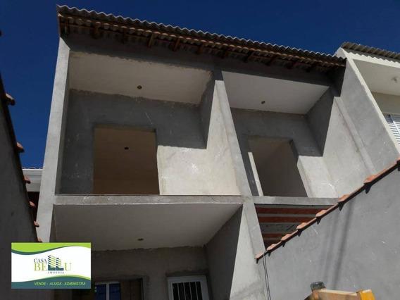 Casa Com 2 Dormitórios À Venda, 70 M² Por R$ 230.000,00 - Jardim Santo Antonio - Franco Da Rocha/sp - Ca0549