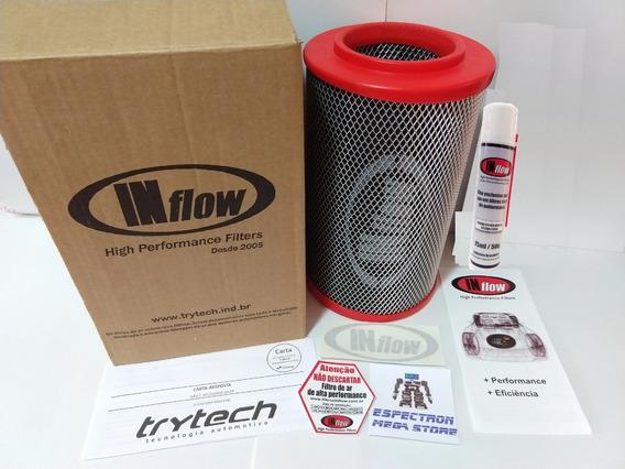Filtro De Ar Inflow Gm S10 2.4 8v Flex 2007 A 2011 Hpf1025