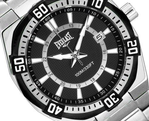 Relógio Everlast Masculino Original Analógico Esportivo Pret