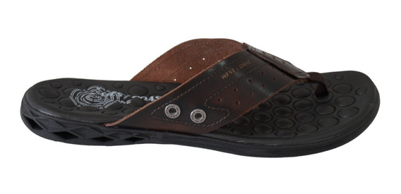 Chinelo Masculino West Coast Block 186301 - Café