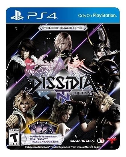 Dissidia Final Fantasy Nt Steelbook Ps4 Mídia Física Novo