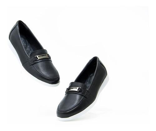 Imagen 1 de 5 de Zapatos Bonitos Dama Flexi 45301 Negro Originales