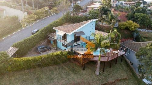 Chácara Com 3 Dormitórios À Venda, 1400 M² Por R$ 920.000,00 - Jardim Leonor - Itatiba/sp - Ch0139