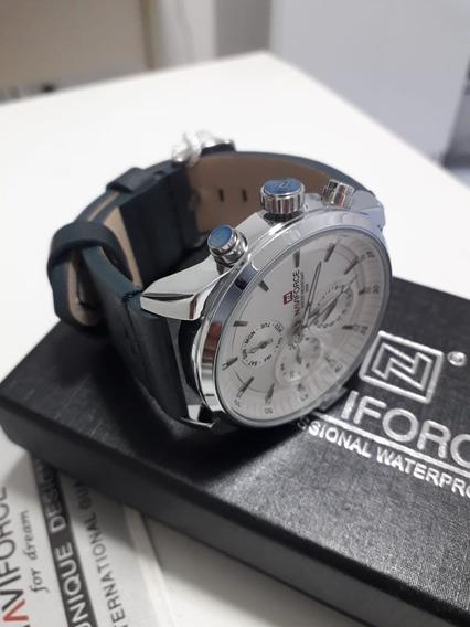 Relógio Navforce + Um Lindo Porta Cartão Automático