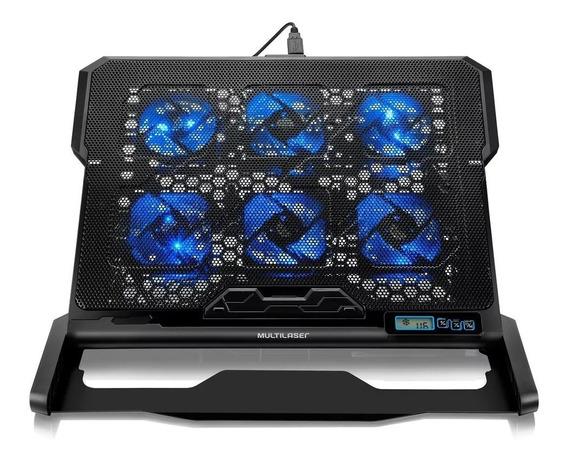 Cooler Para Notebook Multilaser Hexa Cooler Até 17 Ac282