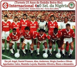 Camisa Internacional Rs 1994, Campeão 25 Anos Do Beira Rio!