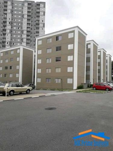 Imagem 1 de 8 de Apartamento 42 M²  No Condômino Novo Horizonte Osasco Sol - 1867