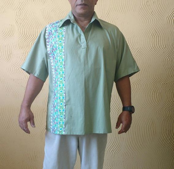 Camisa Bata Masculina Jader