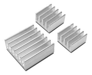 Kit 3 Disipadores De Calor Para Raspberry