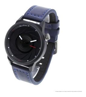 Reloj Hombre Jean Cartier 10112b M1 Ecocuero Analógico Wr
