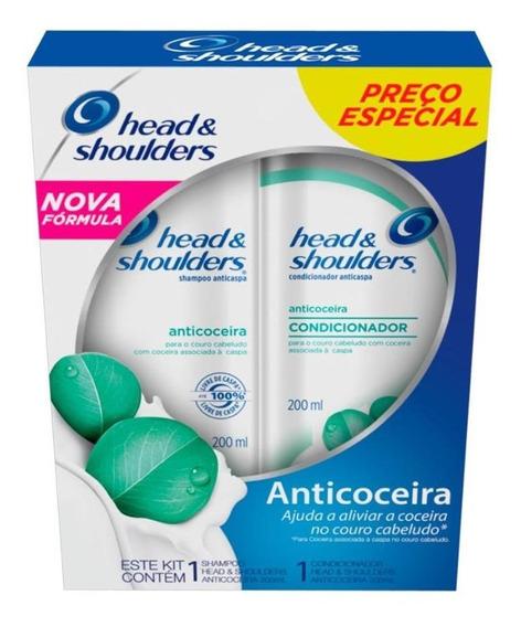 Kit Head & Shoulders Anticoceira Shampoo E Cond. 200ml