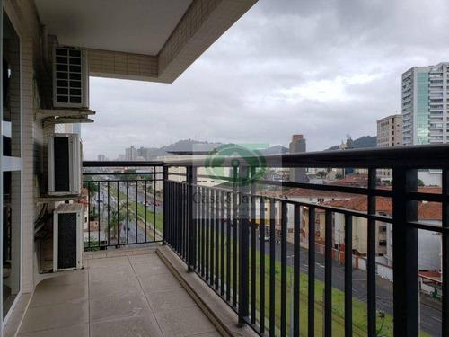 Imagem 1 de 15 de Apartamento Com Lazer Completo No Gonzaga - Ap6827