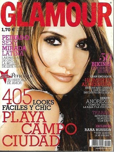 Glamour_2005_penélope Cruz_madonna_nota A Rana Sadam Hussein