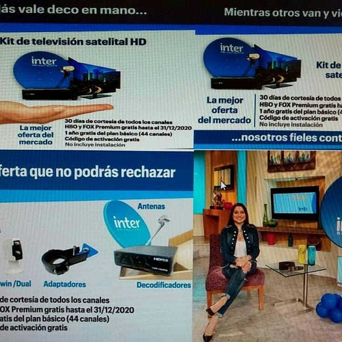 Kit Satelital De Inter