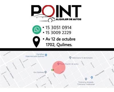 Alquiler De Auto Sin Chofer Economico Km Libre Quilmes Point