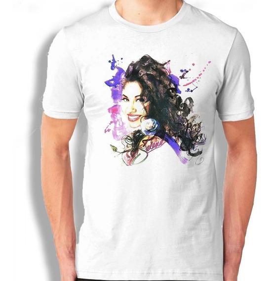 Selena Quintanilla Color Playera Personalizada