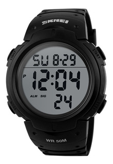 Reloj Deportivo Sumergible Luz Cronometro Skmei 1068