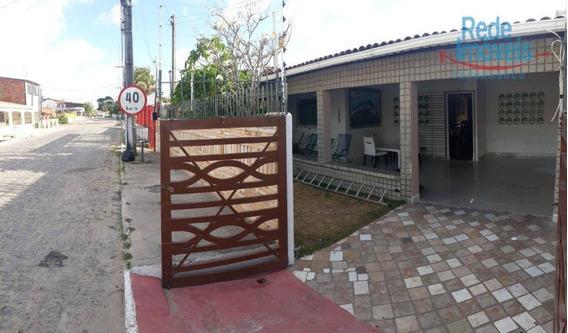 Linda Casa Totalmente Mobiliada Com 3 Quartos Para Locação Por Temporada, 250m² Por R$ 2.000 - Acaú/pb - Aluguel Por Temporada - Ca1190