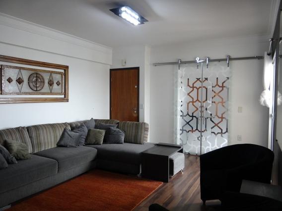 Apartamento 3qts (1 Suíte), 2 Vagas, Andar Alto