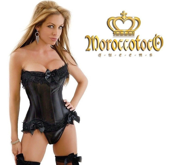 Corset Sexy Saten Hot Importado Art 2009