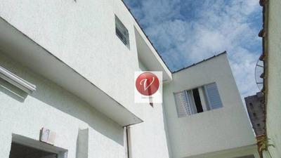 Sobrado Com 3 Dormitórios À Venda, 206 M² Por R$ 580.000 - Jardim Santo Antônio - Santo André/sp - So0653