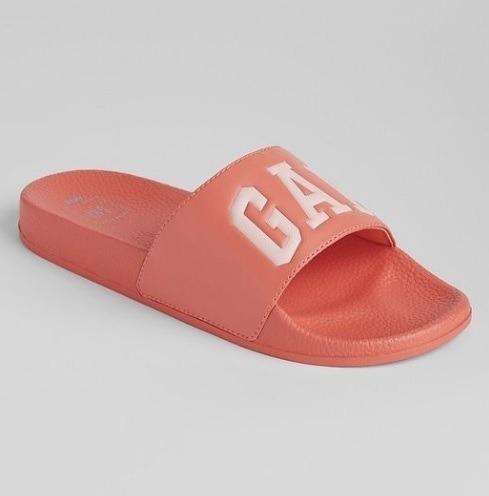 Sandalia Gap Para Dama Modelo Logo Pool Slide