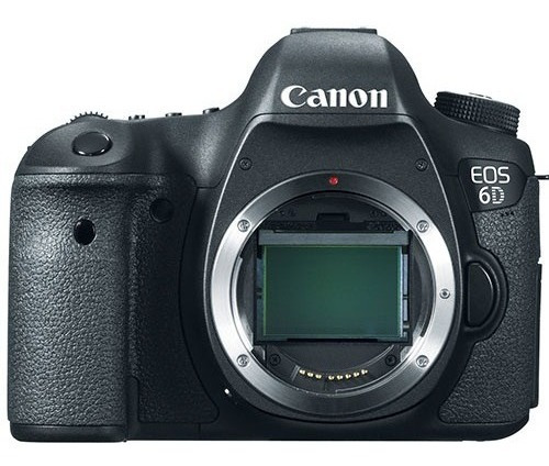 Câmera Canon Eos 6d 20mp Fhd Wi-fi Full Frame Apenas Corpo
