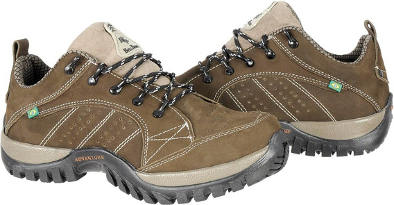 Tênis Bell Boots Adventure Couro Nobuck Boot Masculina Bb