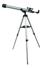 Telescópio Astronômico Tripé 675x Refrator 60mm Terrestre