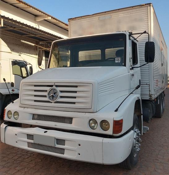 Financia 1º Caminhão 1620 Trucado Baú Ano 2003 Único Dono