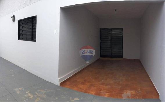 Casa Com 3 Dormitórios Para Alugar Por R$ 1.500,00/mês - Jardim Paraíso - Botucatu/sp - Ca0702