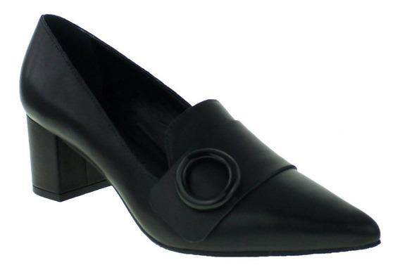 Sapato Scarpin Morena Rosa 19002200383 Feminino Preto