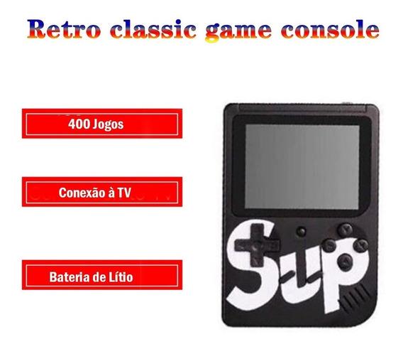 Mini Video Game Portátil Console Retro 400 Jogos Classico