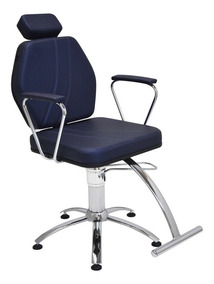 Poltrona Cadeira Fixa Hidráulica Móveis Para Salão De Beleza
