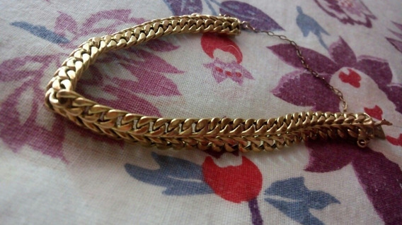 Bracelete Eli Lacraia Ouro 18k Pesando 11 Gramas ...baixei